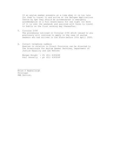 SWA Circular 04 00-2